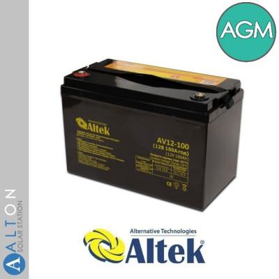 Аккумулятор ALTEK AGM 100Ач 12В (ABT-100-12-AGM)