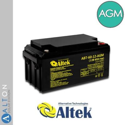 Аккумулятор ALTEK AGM 60Ач 12В (ABT-60-12-AGM)