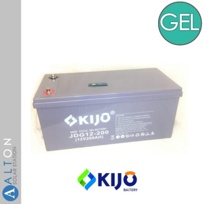 Аккумулятор гелевый KIJO GEL 12V, 200 Ач