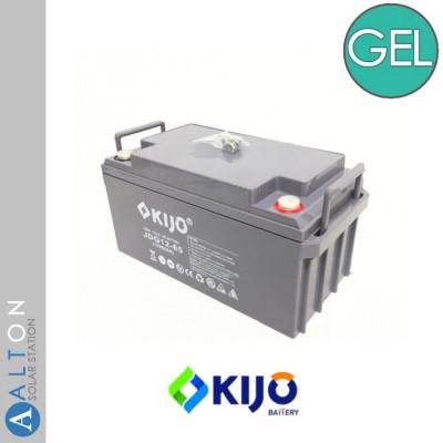 Аккумулятор гелевый KIJO GEL 12V, 65 Ач