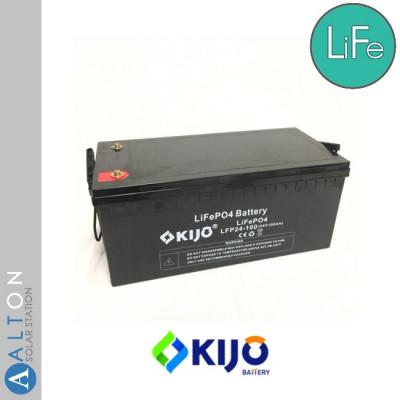 Аккумулятор Kijo LiFePO4 100Ач 24В