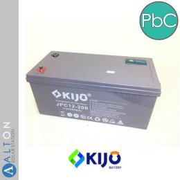 Аккумулятор свинцово-углеродный KIJO JPC 200 Ач, 12 В Lead-carbon