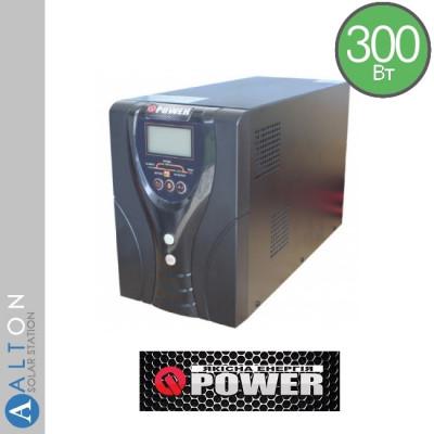 Источник бесперебойного питания (UPS) 300Вт Q-Power EP20-T300W