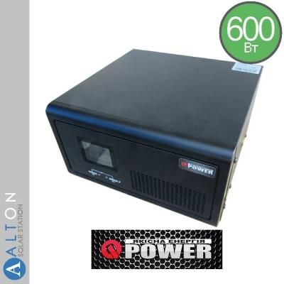 Источник бесперебойного питания (UPS) 600Вт Q-Power QPSM-600