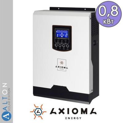 Автономный солнечный инвертор Axioma ISPWM1000, 1 кВА, 220В