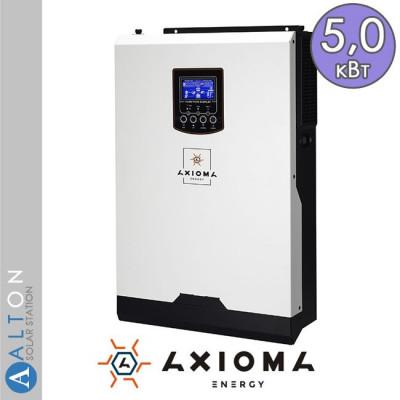 Автономный солнечный инвертор Axioma ISMPPT-BF 5000, 5 кВт, 220В