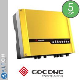 Гибридный солнечный инвертор Goodwe 4600Вт, 220В (GW5048D-ES)