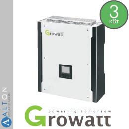 Гибридный солнечный инвертор 3 кВт Growatt Hybrid 3000 HY
