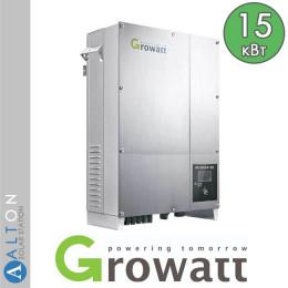 Сетевой солнечный инвертор Growatt 15 кВт