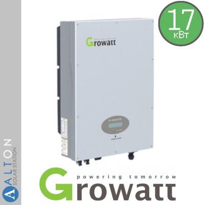 Сетевой солнечный инвертор Growatt 17 кВт 380 В (Growatt 17000 TL3-S)