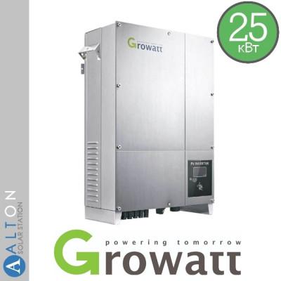 Сетевой солнечный инвертор Growatt 25 кВт 380 В (Growatt 25000 TL3-S)
