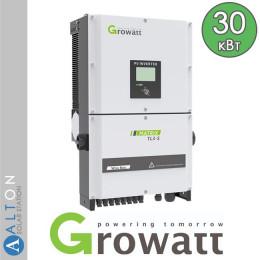 Сетевой солнечный инвертор Growatt 30 кВт
