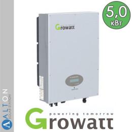 Сетевой солнечный инвертор Growatt 5 кВт