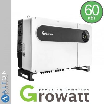 Сетевой солнечный инвертор  Growatt 60 кВт 380 В (Growatt MAX60 TL3-LV)