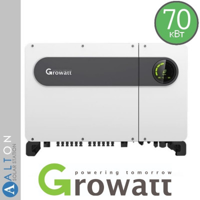 Сетевой солнечный инвертор  Growatt 70 кВт 380 В (Growatt MAX70 TL3-LV)