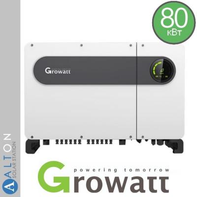 Сетевой солнечный инвертор  Growatt 80 кВт 380 В (Growatt MAX80 TL3-LV)