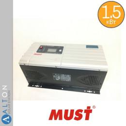 Автономный инвертор (ИБП) 1,5 кВт MUST EP30-1512 PRO