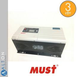 Автономный инвертор (ИБП) 3 кВт MUST EP30-3024 PRO