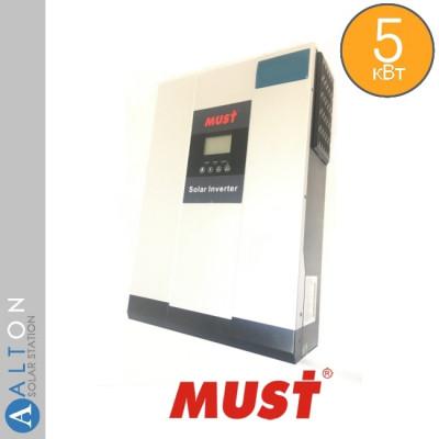 Автономный солнечный инвертор 5 кВт MUST PV18-5048 VHM