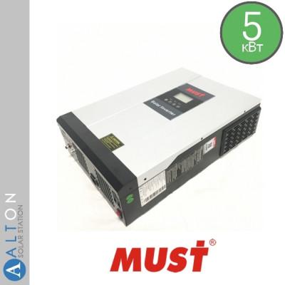 Гибридный солнечный инвертор 5 кВт MUST PH18-5048 PLUS MPK