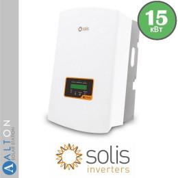 Сетевой солнечный инвертор Solis 15 кВт