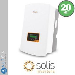 Сетевой солнечный инвертор Solis 20 кВт
