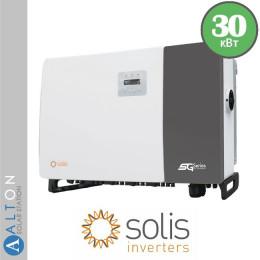 Сетевой солнечный инвертор Solis 30 кВт