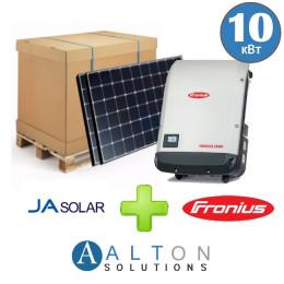 Комплект солнечных батарей 10 кВт Сетевая JA Solar + Fronius