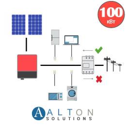 Солнечная электростанция для бизнеса 100 кВт