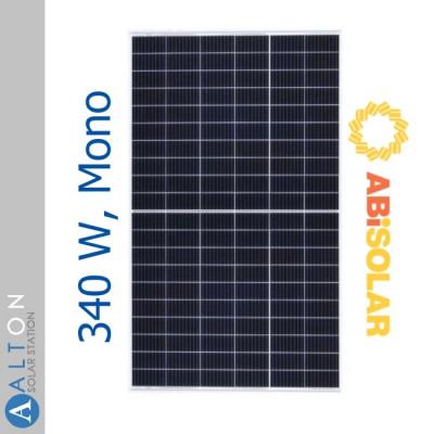 Монокристаллическая солнечная батарея ABi-Solar 340 Вт АВ340-60MHC