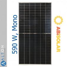 Солнечная батарея ABi-Solar 590 Вт Mono, AB590-78MHC