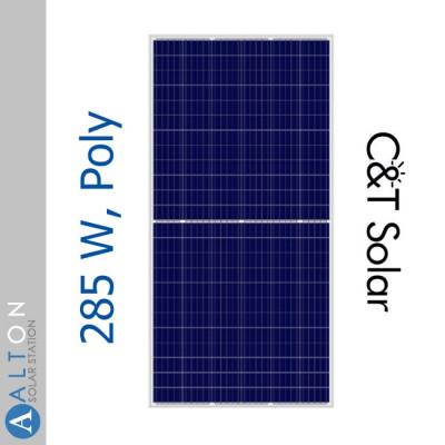 Солнечная батарея C&T Solar 285 Вт СT60285-PHC, Poly
