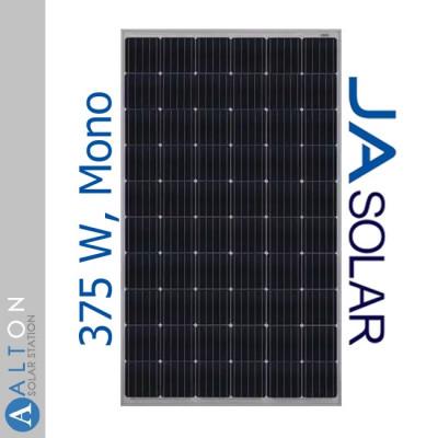 Монокристаллическая солнечная батарея JA Solar 375 Вт JAM60S20-375/MR