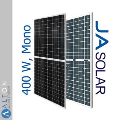 Монокристаллическая солнечная батарея JA Solar JAM72D10-400/MB 400  Wp, Bifacial