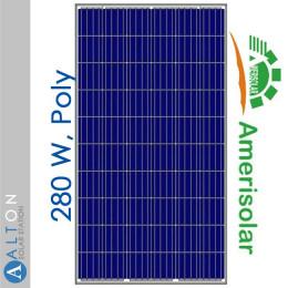 Солнечная батарея Amerisolar 280 Вт, Poly