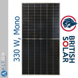 Солнечная батарея British Solar 330 Вт, Mono