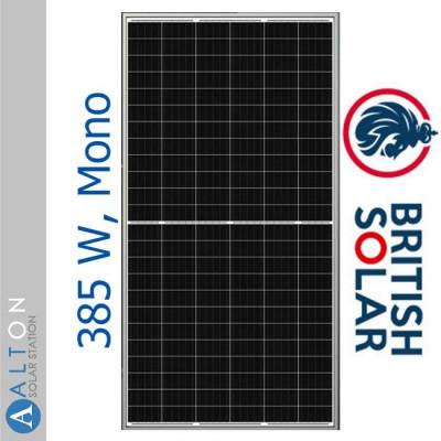 British Solar 385 Вт, Mono BS-385M-BF