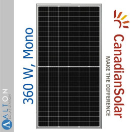 Солнечная батарея Canadian Solar 360 Вт, Mono