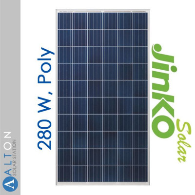 Jinko Solar 280 Вт, Poly JKM280PP-60 5bb