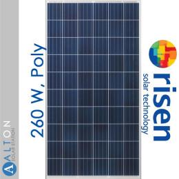 Солнечная батарея Risen 260 Вт, Poly RSM60-6-260P/4BB
